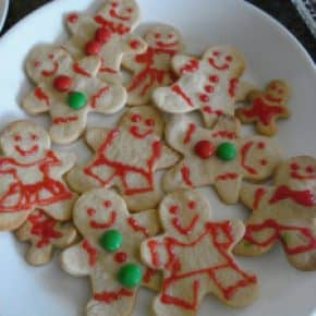 First batch of christmas cookies!