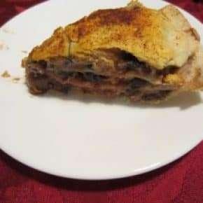 Black Bean Pie
