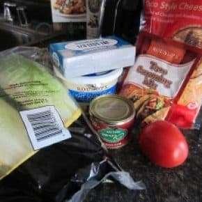 Healthier Taco Dip