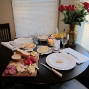 Valentines Dinner from my sweetheart