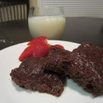 Brownies made with…YOGURT!