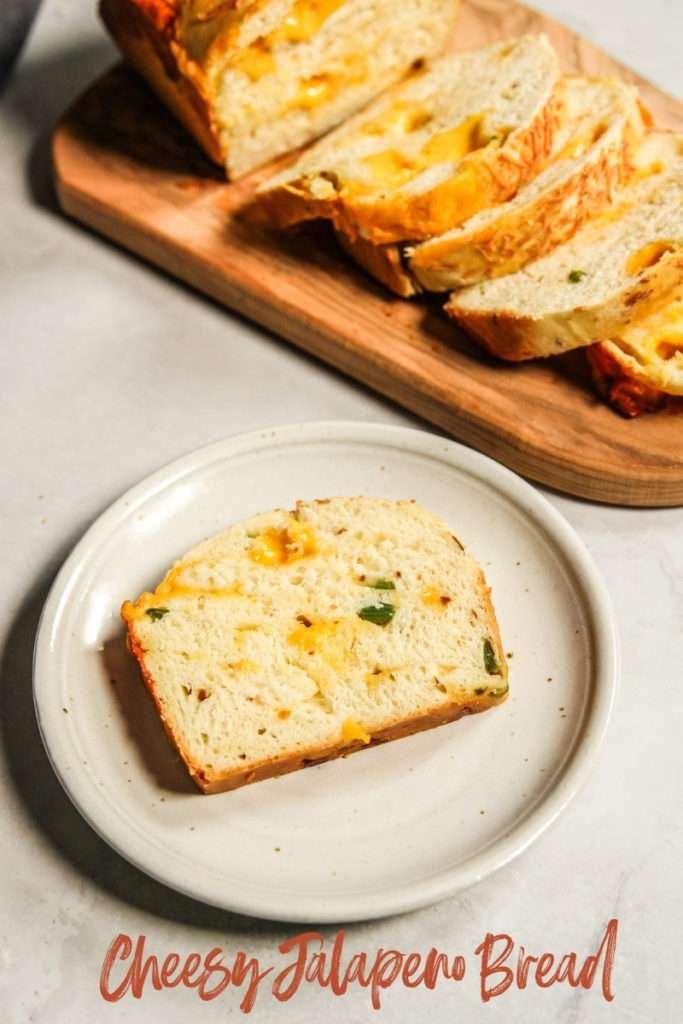 Cheesy jalapeno pull apart bread recipe