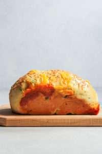 Cheddar jalapeno bread loaf
