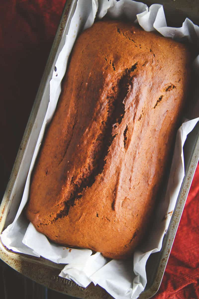 The best gluten free pumpkin loaf ever