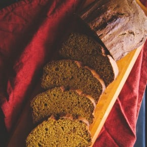 The best pumpkin loaf recipe from @Sweetphi - this delicious pumpkin loaf can be made gluten free and is truly the best pumpkin loaf recipe