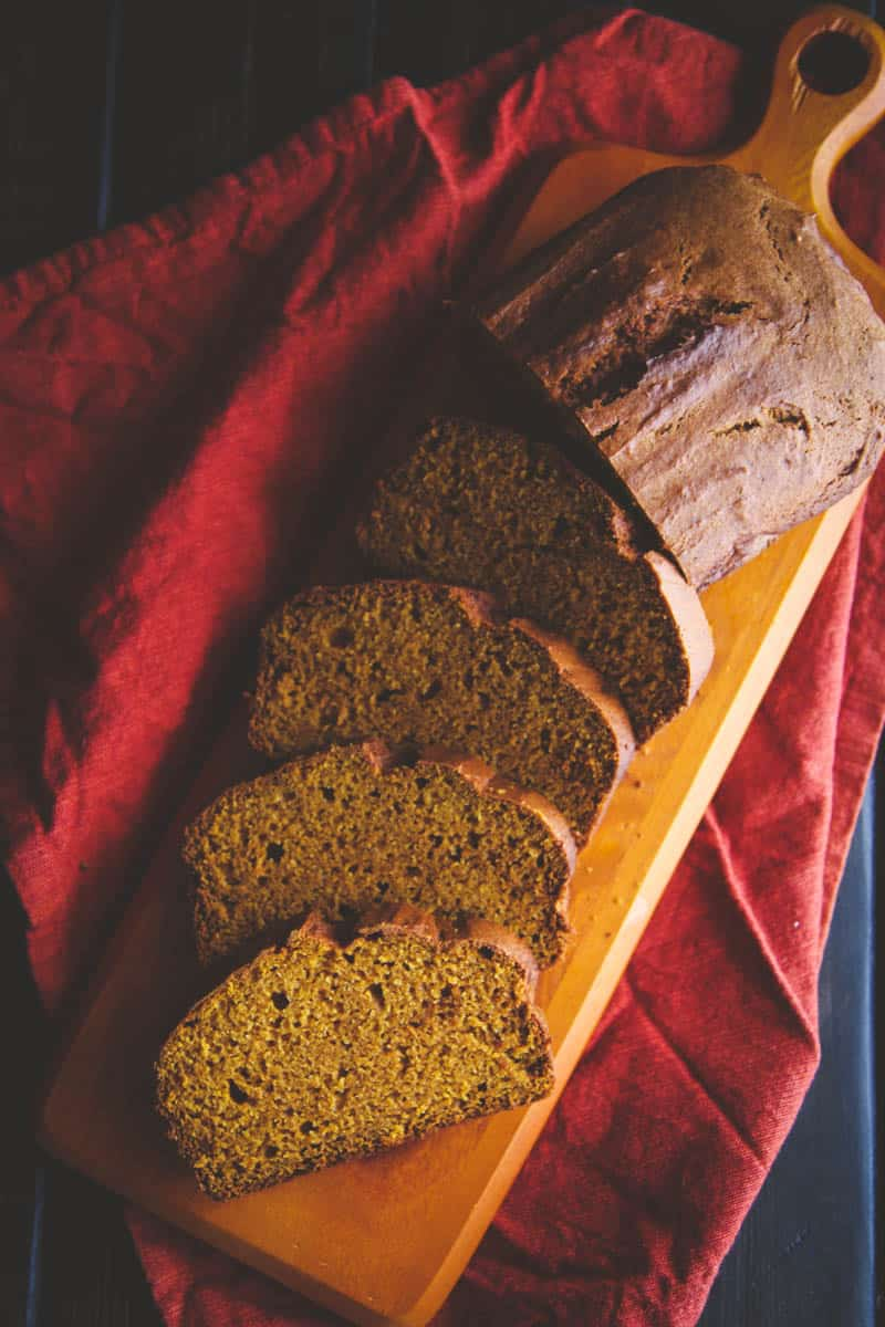 The most delicious pumpkin loaf ever