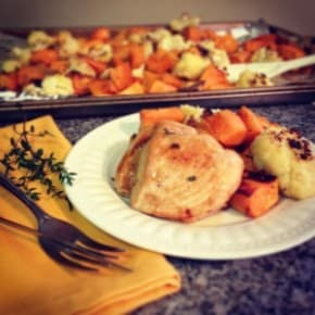 Recipe Repost – Chicken with Sweet Potatoes & Cauliflower