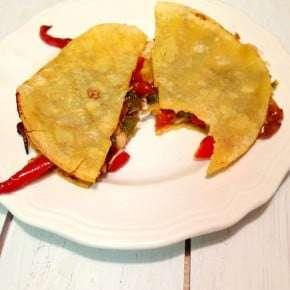 Five Ingredient Fridays – Healthy Fajita Quesadillas
