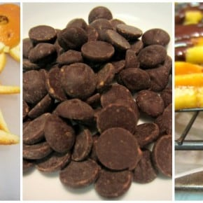 Five Ingredient Fridays – Chocolate Covered Orange Peel