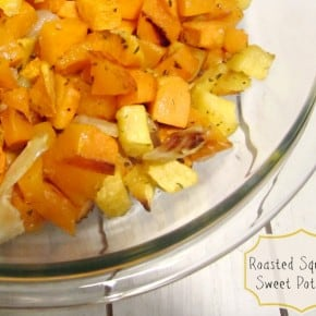 Roasted Butternut Squash & Thanksgiving Roundup
