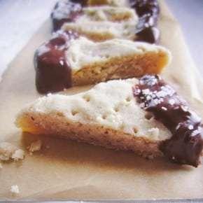 Browned Butter Hazelnut Shortbread