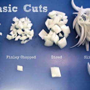 Basic Knife Cuts