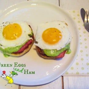 Green Eggs and Ham Benedict