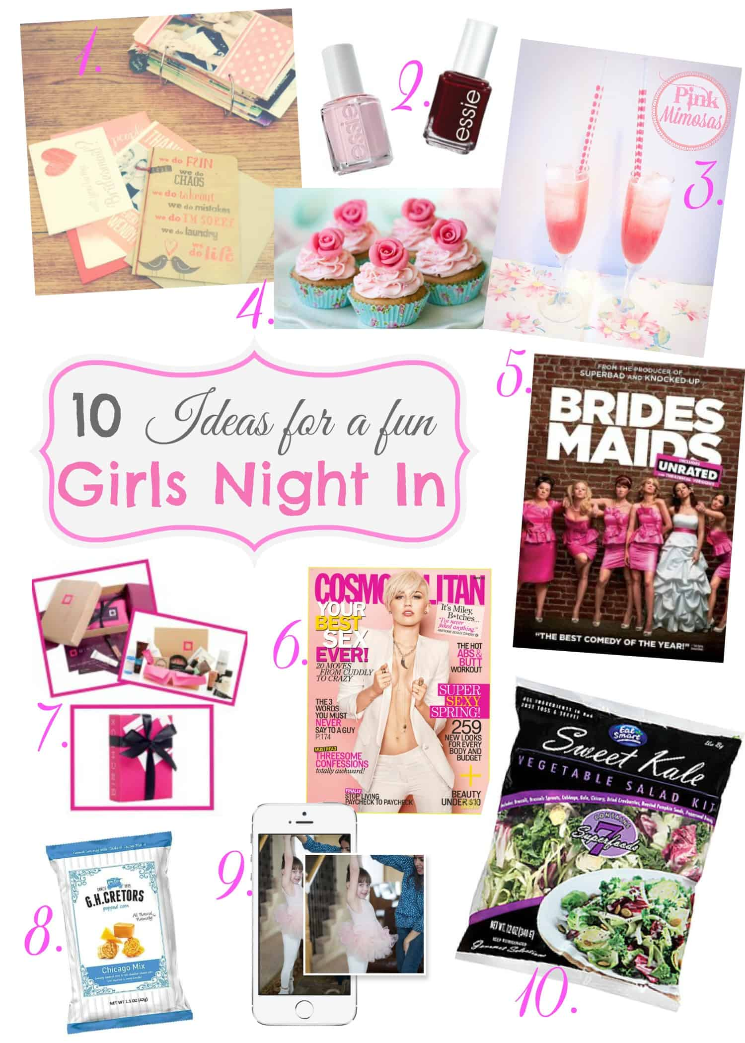Sweet Sundays: 10 Ideas for a Girls Night In