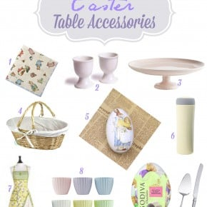Sweet Sunday: Easter Table Accessories