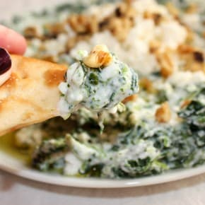 5 Ingredient Spinach Feta Dip