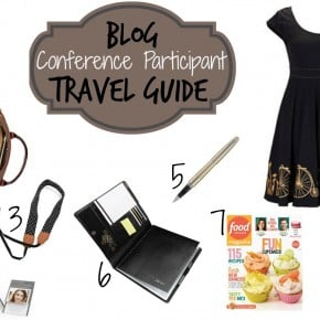 Blog Conference Participant Travel Guide