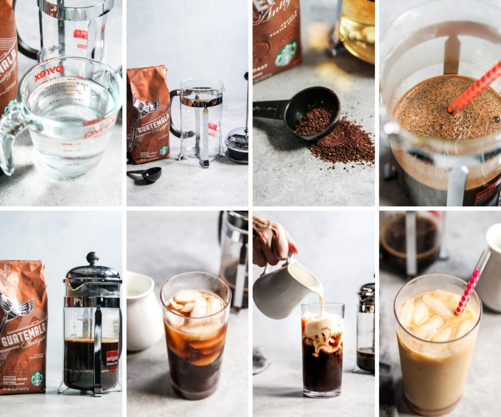 How to make the best Starbucks iced coffee at home with a French Press
