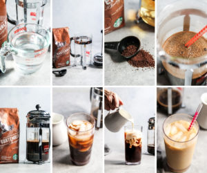How to make Starbucks iced coffee at home via French Press method