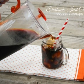 Starbucks Iced Coffee Copycat Recipe