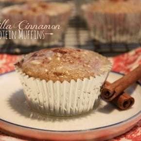 Vanilla Cinnamon Protein Muffins