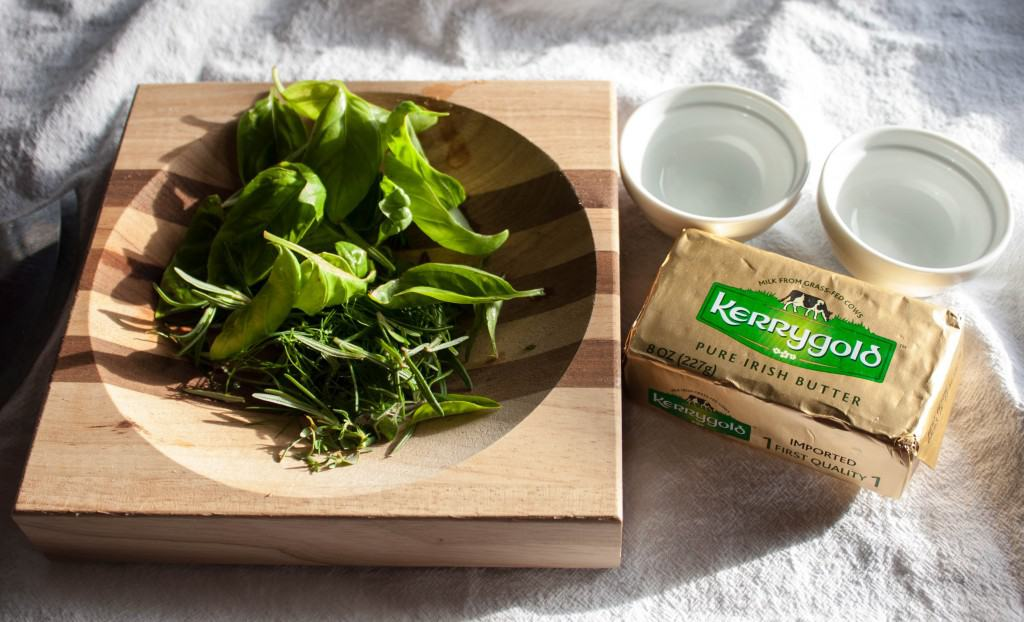 How to make the most dleicious herb butter