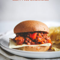 Sloppy Joe sandwiches made with ground turkey, easy dinner with ground turkey, ground turkey sloppy Joe sliders, 20 minute meals, 20 minute easy dinner