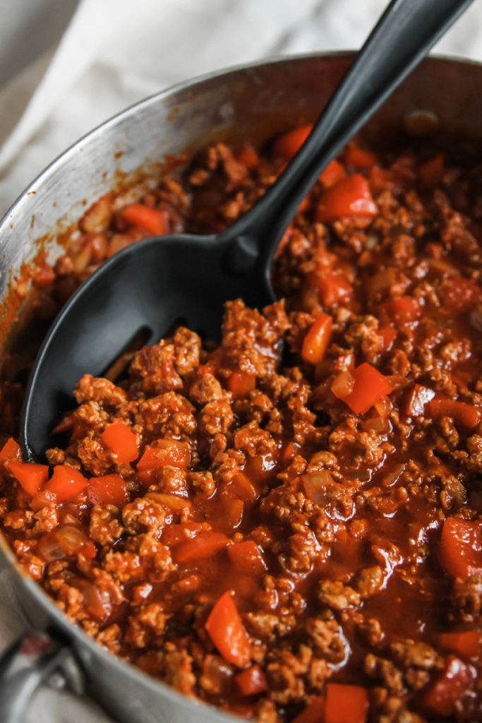 How to make the best ground turkey sloppy joes