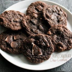 Triple Chocolate Oreo Cookies