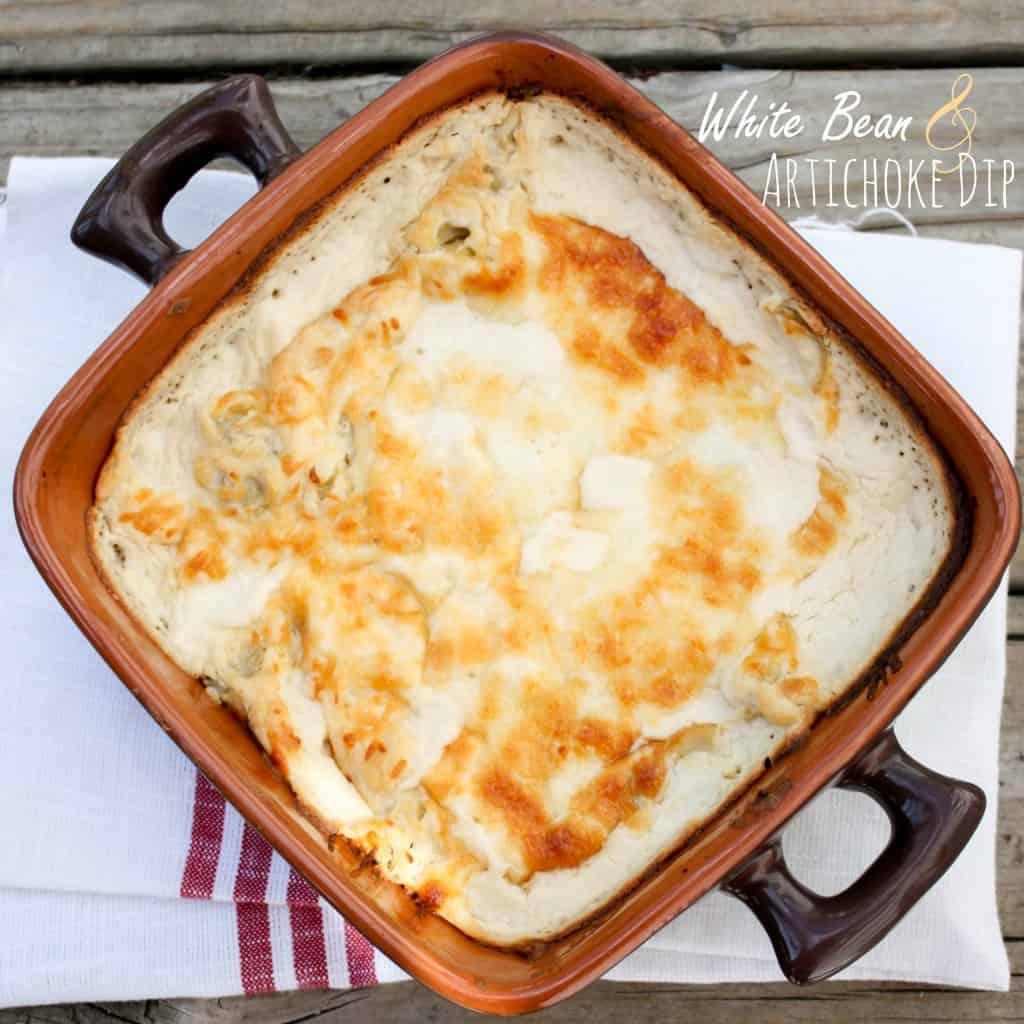 5 White Bean Artichoke Dip
