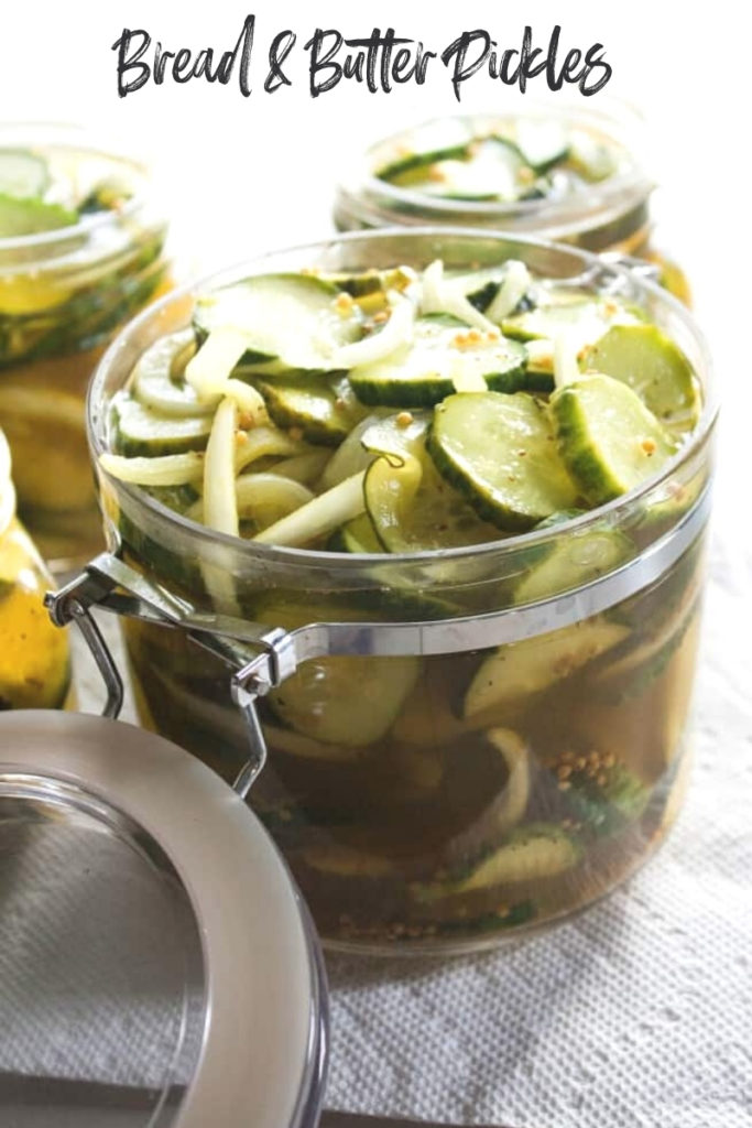 The best recipe for bread and butter pickles