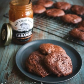 Mexican-hot-chocolate-caramel-cookies
