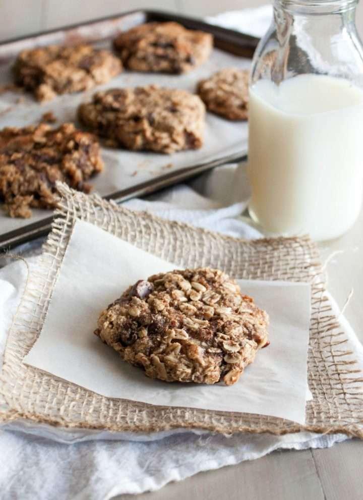 Quick and healthy breakfast cookies, easy breakfast, freezer breakfast idea, breakfast cookies, gluten free vegan breakfast recipes