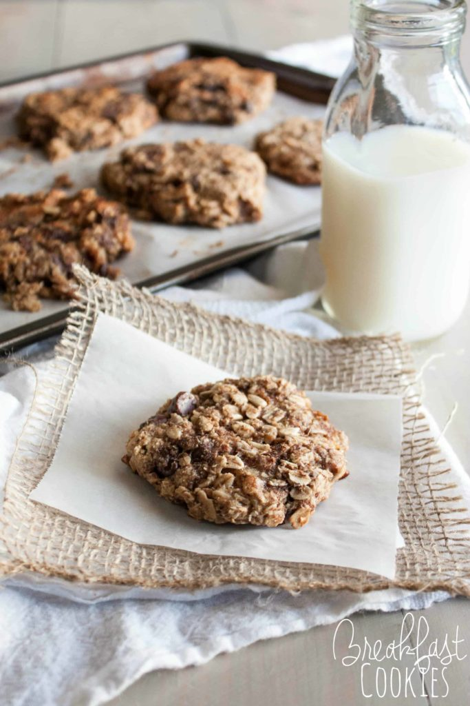 The best breakfast cookies that are gluten free and vegan