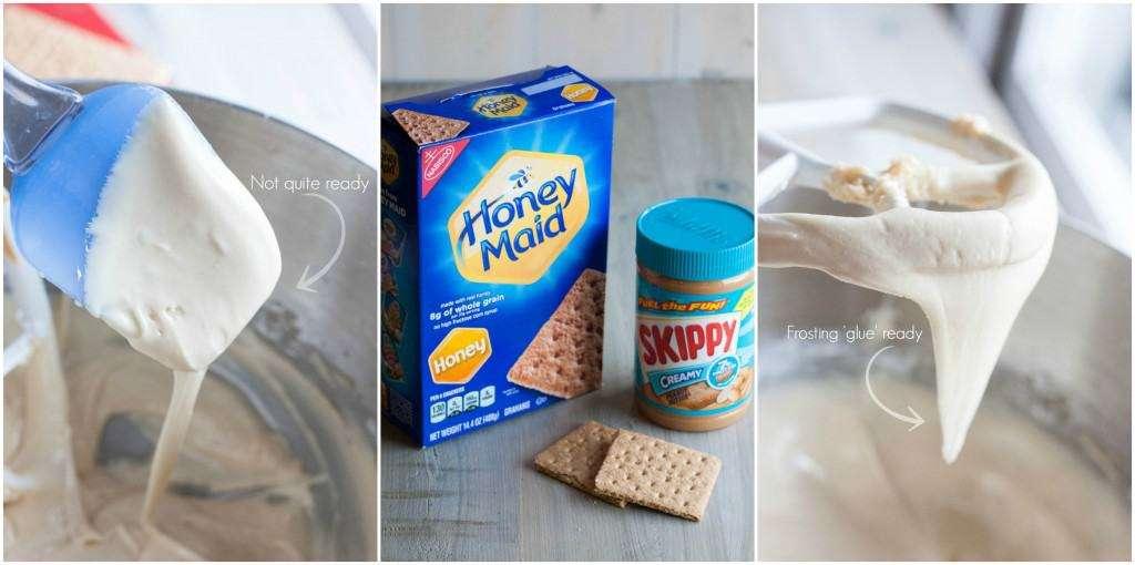 How to make edible glue for graham cracker houses