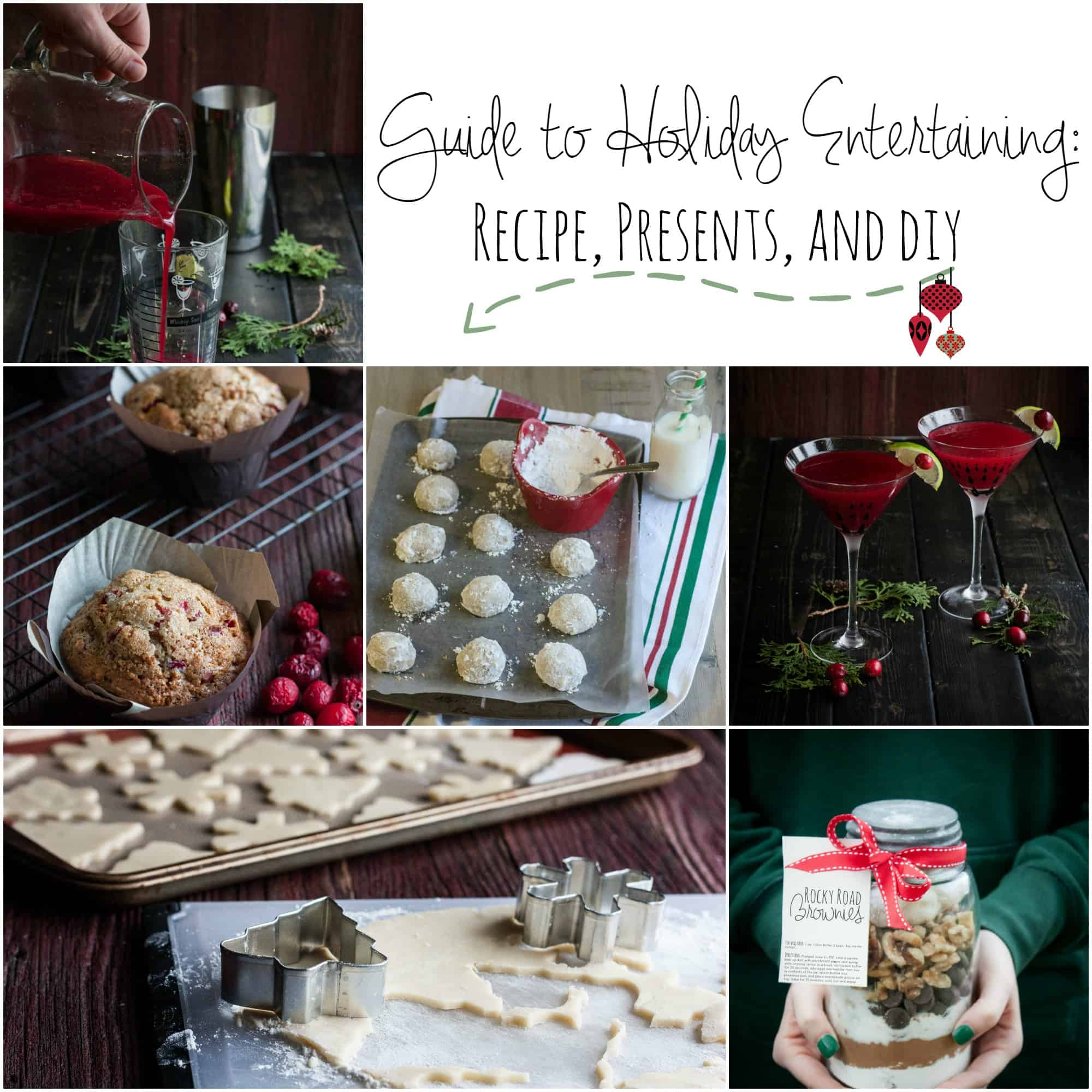 Entertaining Holidays: Guide To Holiday Entertaining: Recipes, Presents, And DIY