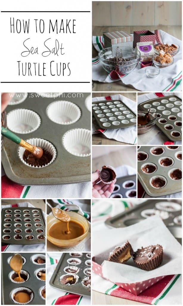 How to make the most delicious sea salt turtle cups