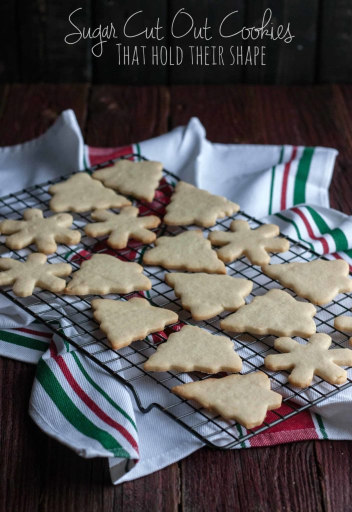 The best ever sugar cut out cookies