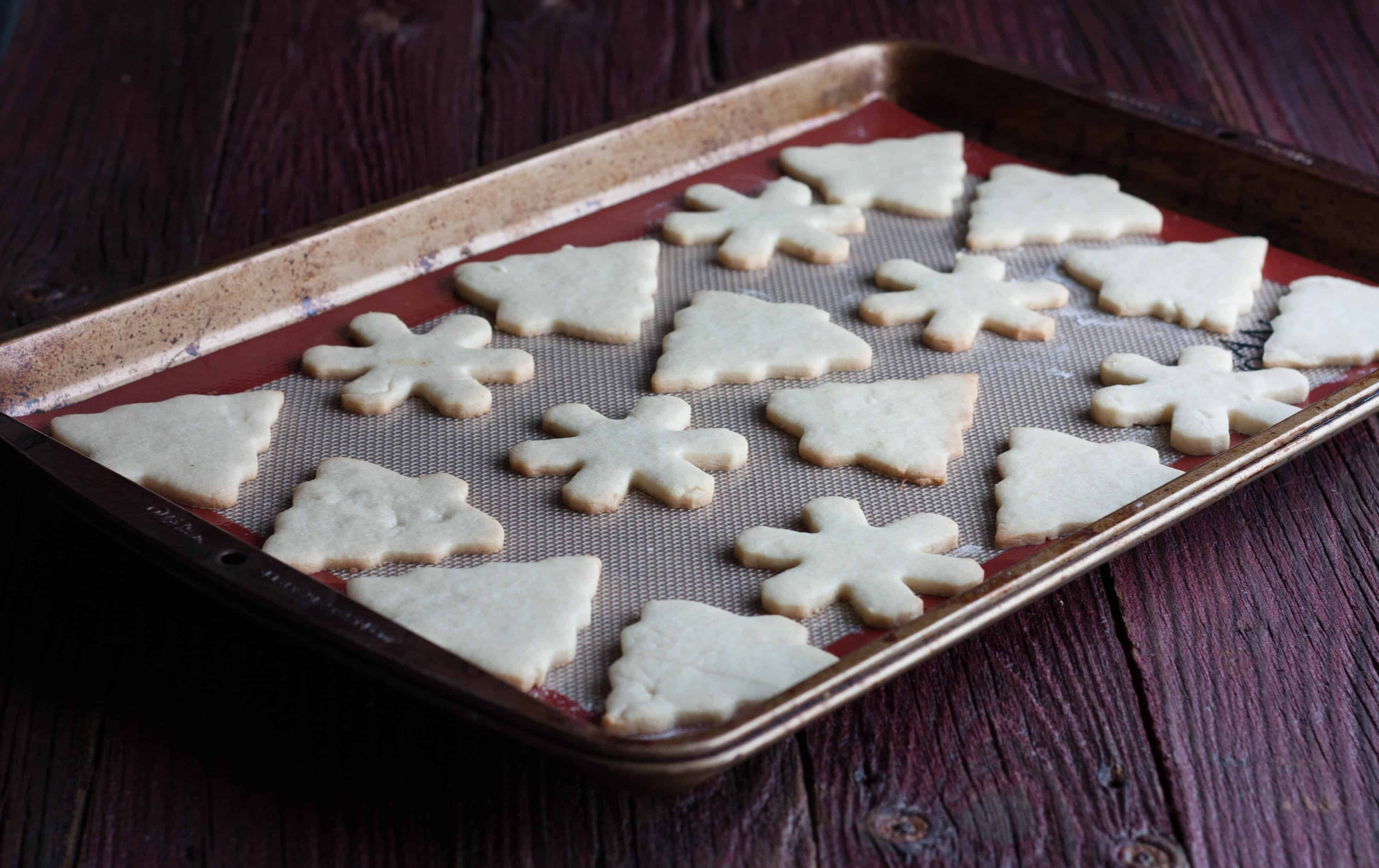 The most amazing and easy sugar cut out cookies