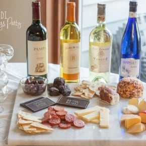 ALDI Pairings Party {wine & cheese & chocolate, oh my}