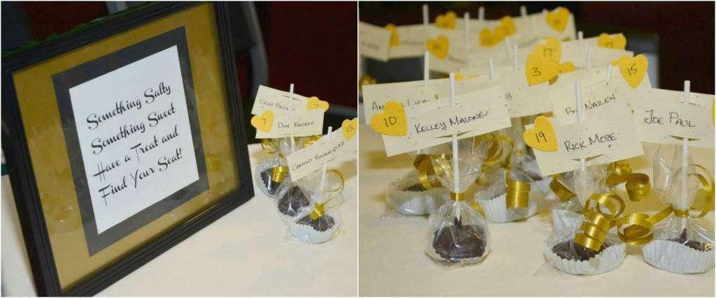 Sea salt turtle cups for a wedding favor