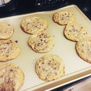 Reader recreation salted caramel cookies