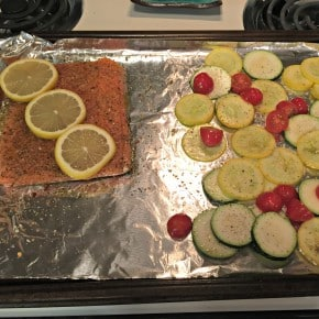 Reader recreation of my perfectly baked salmon
