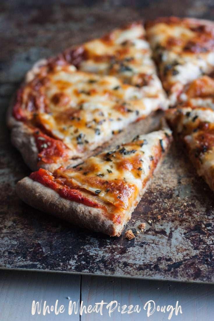 Fail Proof Whole Wheat Pizza Dough