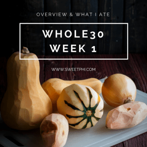 Whole30-Week 1-overview