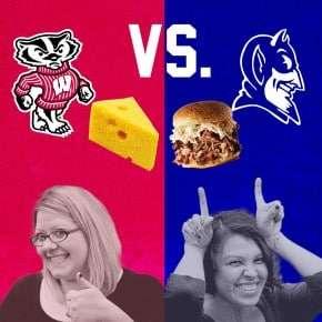 Cheese vs. BBQ {Wisconsin vs. Duke bet}