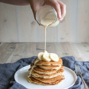 Tres Leches Banana Pancakes