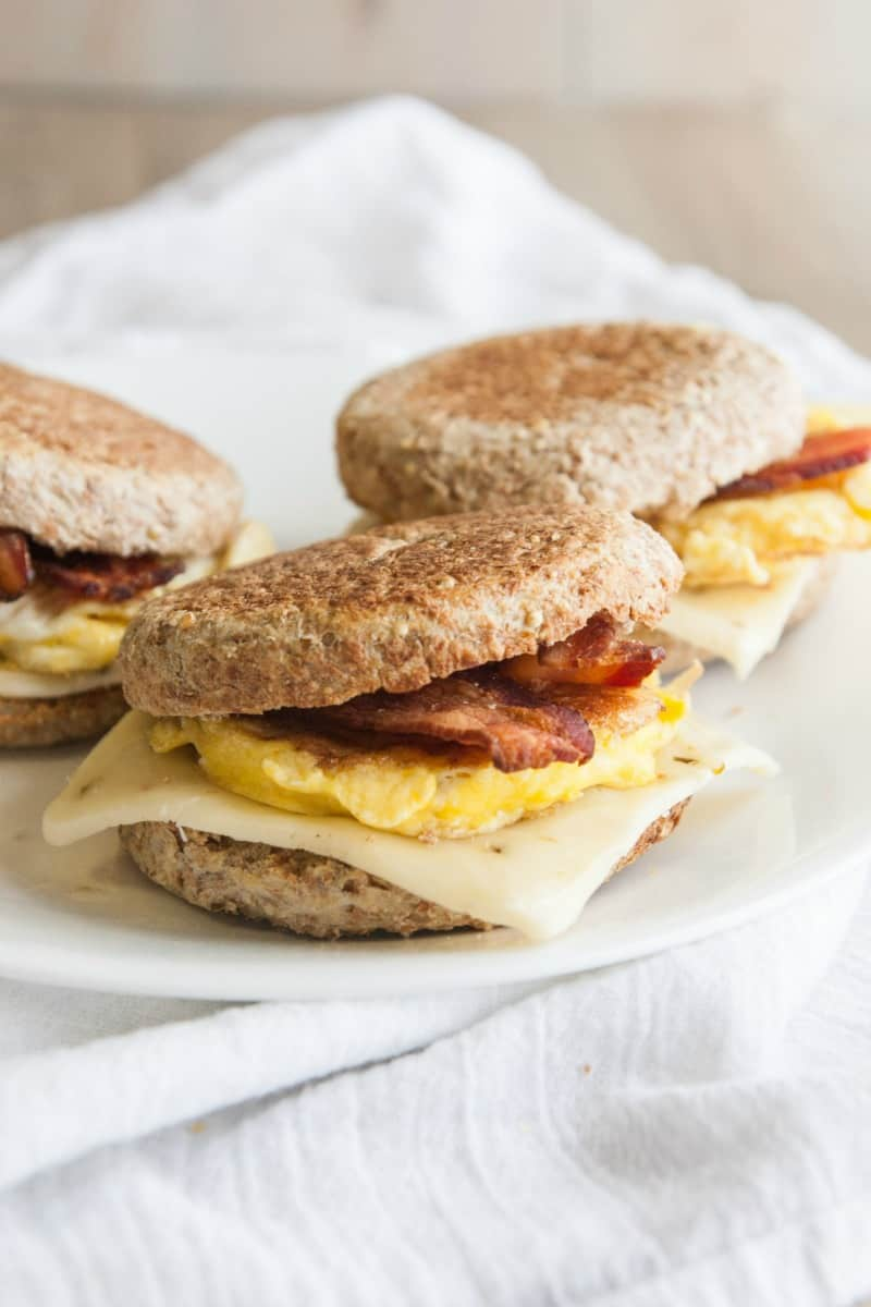 Super delicious and easy breakfast sandwiches
