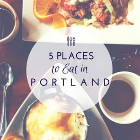 5 Places To Eat In Portland