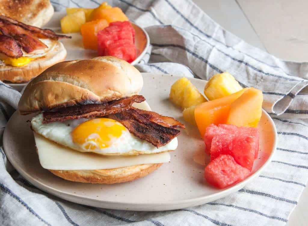 The best and easy to make breakfast sandwiches